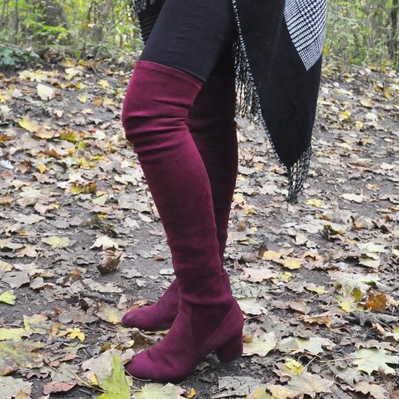 Overknee Trend: Styling-Tipps, Kombinationsmöglichkeiten
